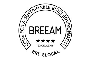 "<p><em>The Green Point building has completed the BREEAM certification process and has achieved <a href=""https://www.dropbox.com/s/n52323mfxgkmab8/BREEAM-0079-3109-1-1.pdf?dl=0"">Excellent certification</a>. The second highest level of certification achieved is a clear message that the </em><strong><em>Green Point building offers a healthy indoor environment while being environmentally friendly.</em></strong></p>"